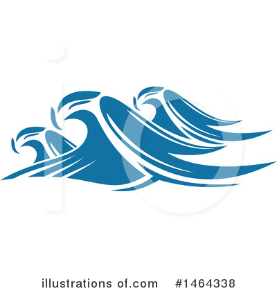 Waves Clipart #1464338 by Vector Tradition SM