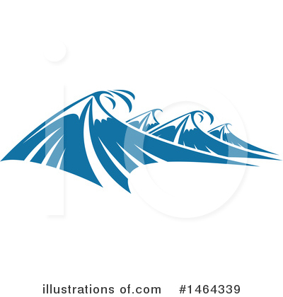 Waves Clipart #1464339 by Vector Tradition SM