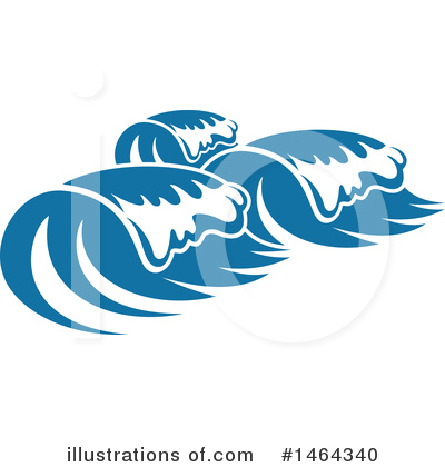 Waves Clipart #1464340 by Vector Tradition SM