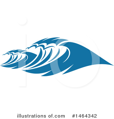 Waves Clipart #1464342 by Vector Tradition SM