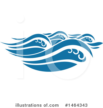 Waves Clipart #1464343 by Vector Tradition SM