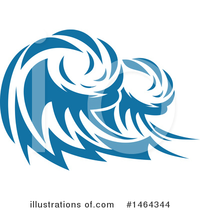 Waves Clipart #1464344 by Vector Tradition SM