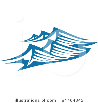 Waves Clipart #1464345 by Vector Tradition SM
