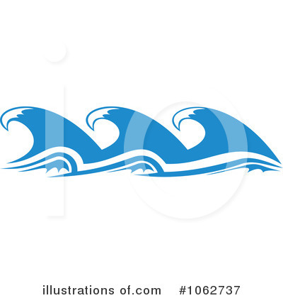 Waves Clipart #1062737 by Vector Tradition SM