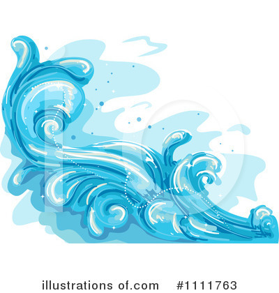 Waves Clipart #1111763 by BNP Design Studio