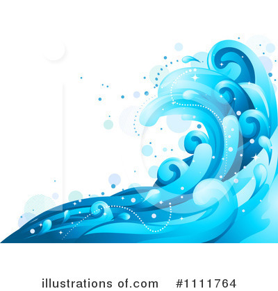 Waves Clipart #1111764 by BNP Design Studio