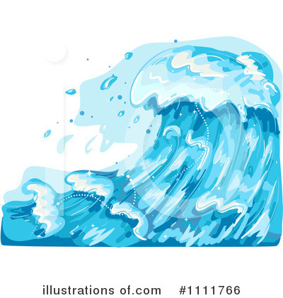 Waves Clipart #1111766 by BNP Design Studio