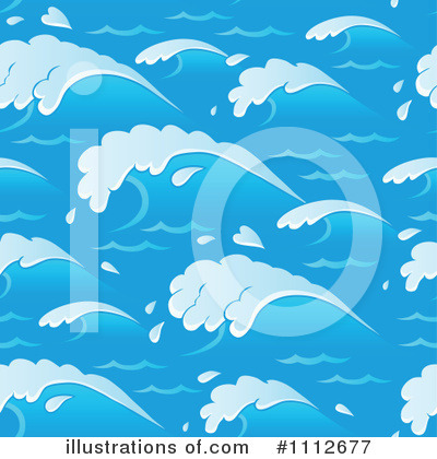 Royalty-Free (RF) Waves Clipart Illustration by visekart - Stock Sample #1112677