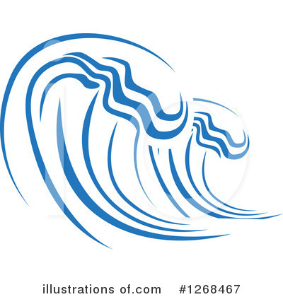 Royalty-Free (RF) Waves Clipart Illustration by Vector Tradition SM - Stock Sample #1268467