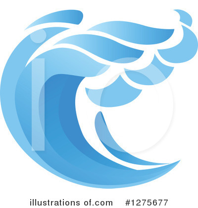 Tsunami Clipart #1275677 by Vector Tradition SM