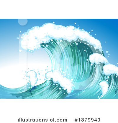 Ocean Clipart #1379940 by Graphics RF