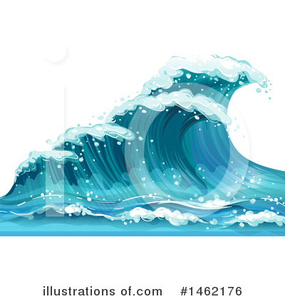 Royalty-Free (RF) Waves Clipart Illustration by Graphics RF - Stock Sample #1462176