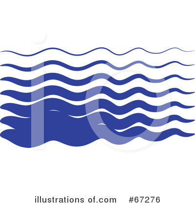 Royalty-Free (RF) Waves Clipart Illustration by Prawny - Stock Sample #67276