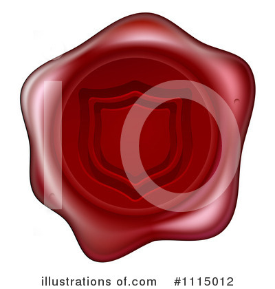 Wax Seal Clipart #1115012 by AtStockIllustration