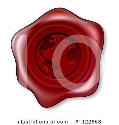 Wax Seal Clipart #1122668 by AtStockIllustration