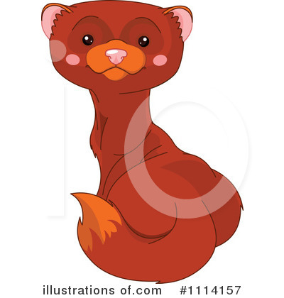 Weasel Clipart #1114157 by Pushkin