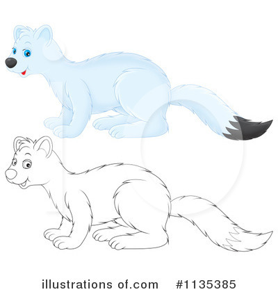 Weasel Clipart #1135385 by Alex Bannykh