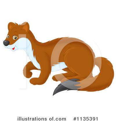 Weasel Clipart #1135391 by Alex Bannykh