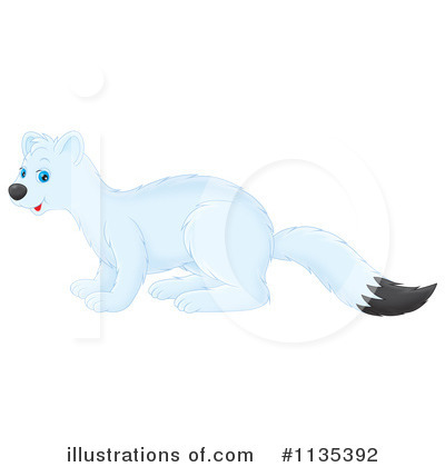 Weasel Clipart #1135392 by Alex Bannykh