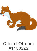 Royalty-Free (RF) weasel Clipart Illustration #1139222