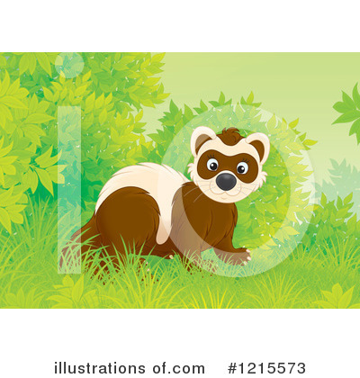 Weasel Clipart #1215573 by Alex Bannykh