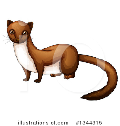 Weasel Clipart #1344315 by Graphics RF