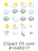 Royalty-Free (RF) Weather Clipart Illustration #1045017