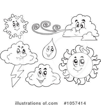 Royalty free rf weather clipart illustration by visekart stock