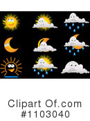 Weather Clipart #1103040 by Andrei Marincas
