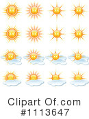 Royalty-Free (RF) Weather Clipart Illustration #1113647
