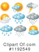 Weather Clipart #1192549 by Pushkin