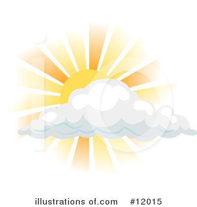 Cloud Clipart #12015 by AtStockIllustration