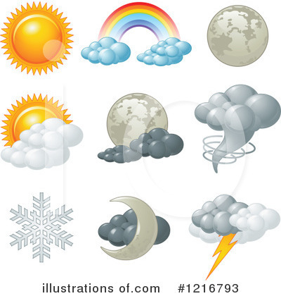 Rainbow Clipart #1216793 by Pushkin