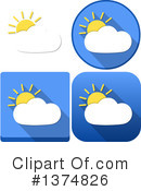 Weather Clipart #1374826 by Liron Peer