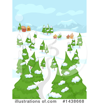 Village Clipart #1438668 by BNP Design Studio