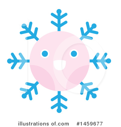 Snowflakes Clipart #1459677 by Cherie Reve