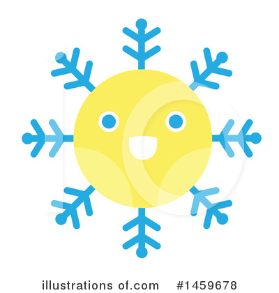 Snowflakes Clipart #1459678 by Cherie Reve