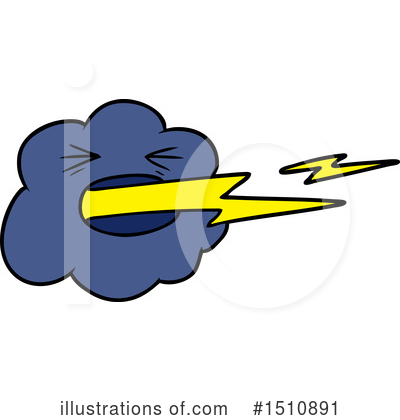 Lightning Clipart #1510891 by lineartestpilot