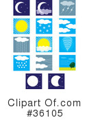 Weather Clipart #36105 by Maria Bell