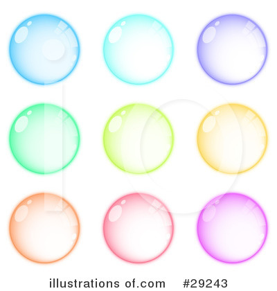 Web Site Buttons Clipart #29243 by beboy