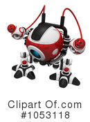 Royalty-Free (RF) Web Crawler Clipart Illustration #1053118