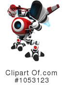 Royalty-Free (RF) Web Crawler Clipart Illustration #1053123
