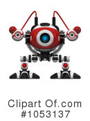 Royalty-Free (RF) Web Crawler Clipart Illustration #1053137
