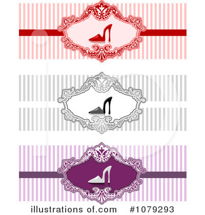 Royalty-Free (RF) Web Site Banners Clipart Illustration by BNP Design Studio - Stock Sample #1079293