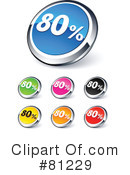 Web Site Buttons Clipart #81229 by beboy