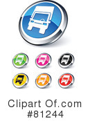 Web Site Buttons Clipart #81244 by beboy