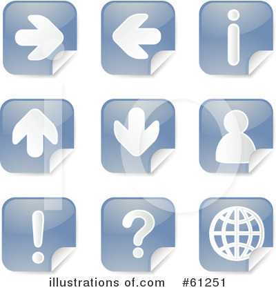 Website Buttons Clipart #61251 by Kheng Guan Toh