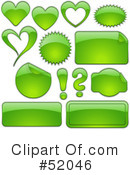Royalty-Free (RF) Web Site Icons Clipart Illustration #52046