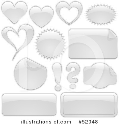 Royalty-Free (RF) Web Site Icons Clipart Illustration by dero - Stock Sample #52048