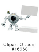 Royalty-Free (RF) Webcam Character Clipart Illustration #16968